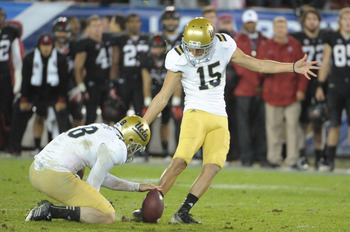 Ka'imi Fairbairn will handle the 2013 placekicking duties.