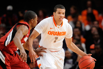Michael Carter-Williams has to take care of the ball
