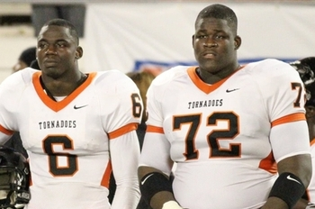 Matthew Thomas and Denver Kirkland via 247sports.
