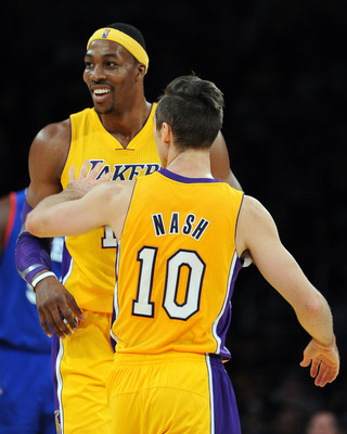 Dwight Howard and Steve Nash: Great on paper, not so often on the floor.