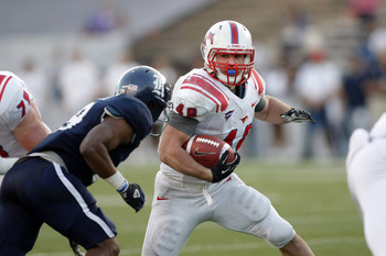 SMU Mustangs RB/FB—Zach Line