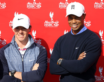 Will Tiger Woods be smiling as crowds root more and more for McIlroy?