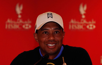 Tiger Woods enters 2013 with confidence.