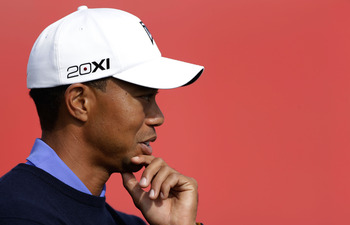 Who knows what Tiger Woods might be planning for 2013?