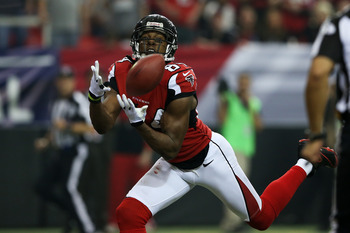 Roddy White leads a dangerous Atlanta receiving corps.
