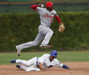 Gregorius committed no errors in 46 innings for the Reds in 2012.