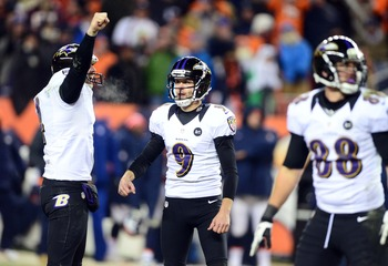 Justin Tucker kicks the Ravens into AFC Championship game.