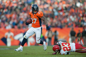 Knowshon Moreno was a big reason why the Denver Broncos finished 13-1 this season.