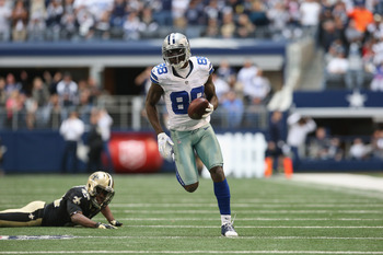 Dez Bryant developed into one of the NFL's best wide receivers in 2012.