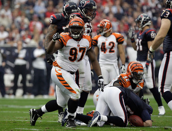 Geno Atkins earned his first Pro Bowl berth with his play in 2012.