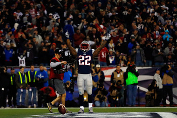 Stevan Ridley has emerged as the featured back that the Patriots have long lacked in their backfield.