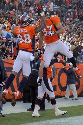 Demaryius Thomas and Eric Decker made Peyton Manning's comeback a whole lot easier.
