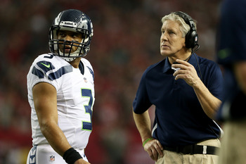 Russell Wilson's rookie year made Pete Carroll look like a genius.