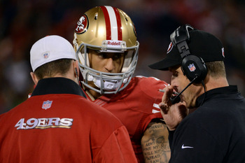 Colin Kaepernick's electrifying play has once again validated coach Jim Harbaugh's brilliance.
