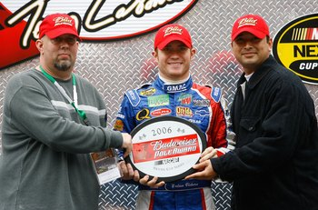 Brian Vickers was the fastest at Texas in November 2006 and remains No. 1 nearly seven years later.