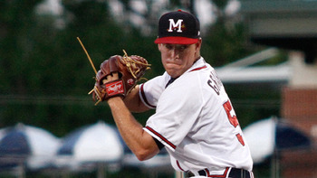 RHP J.R. Graham (Photo Credit: Ed Gardner, Mississippi Braves)