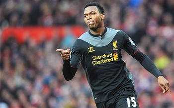Daniel Sturridge made a big impact at Old Trafford last Sunday - Image courtesy of www.telegraph.co.uk