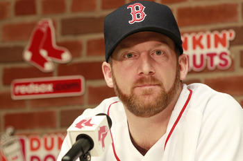 New Red Sox pitcher Ryan Dempster