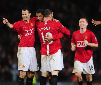 Giggs, Ronaldo, Rooney, Scholes
