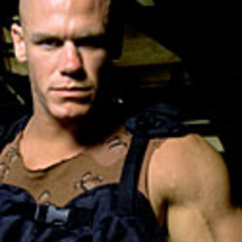 Cena was on one of UPN's many failed shows called &quot;Manhunt.&quot; Photo Courtesy of http://www.realitynewsonline.com