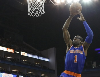 New York Knicks' Amar'e Stoudemire