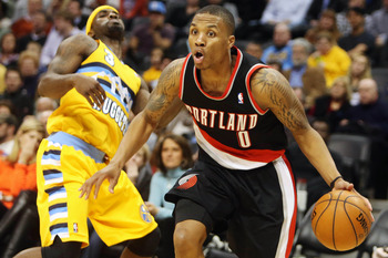 Damian Lillard is the favorite to win Rookie of the Year.