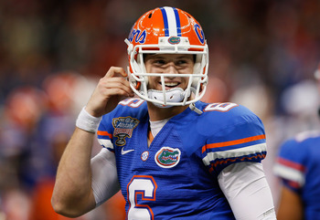 Jeff Driskel heads into 2013 as the unquestioned starter.