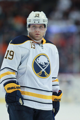 Hodgson will have to fill the void left by Derek Roy.
