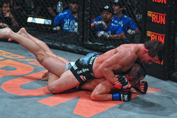 Michael Chandler in previous action. Image via Bellator.com