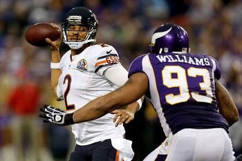 Jason Campbell has played with the Redskins, Raiders and Bears.