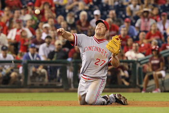 Scott Rolen was traded to the Reds in 2009.