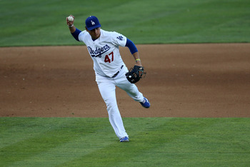 The Dodgers aren't sure if Luis Cruz is an everyday player.