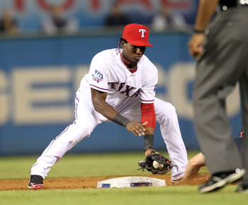 Texas has made shortstop Jurickson Profar untouchable.
