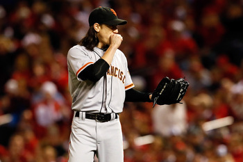 Who would start in place of an injured/ineffective Tim Lincecum?