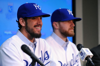 These are the new faces of Kansas City's pitching staff.