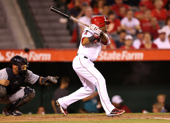 Aybar will get plenty of fastballs hitting No. 2 in 2013.