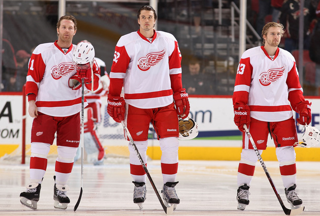 red wings top players
