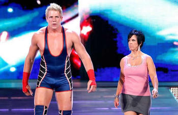 Vickie should have continued managing Jack Swagger (photo credit: vickie-guerrero.org))