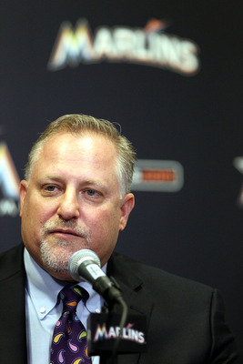 Larry Beinfest, the Marlins president of baseball operations, could be a busy man this year if he builds Giancarlo Stanton a team that could win as early as 2014.