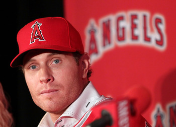 Los Angeles Angels OF Josh Hamilton