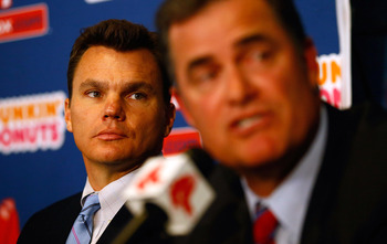 Boston Red Sox GM Ben Cherington and MGR John Farrell