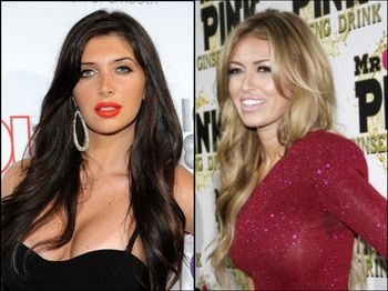 Brittny Gastineau & Paulina Gretzky, Images via Getty