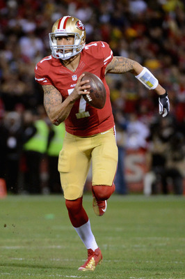 Kaepernick hurt the Falcons more with his arm and his decision-making than his legs.