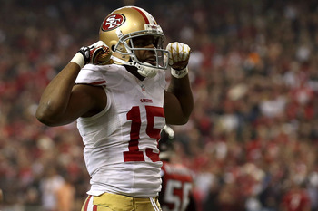 One bad fumble, but Crabtree was flexing by the end.