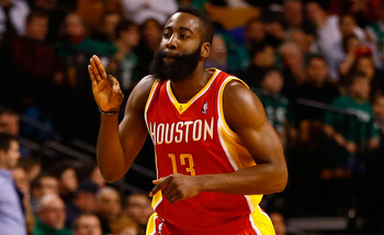 James Harden is creating a superstar identity in Houston.