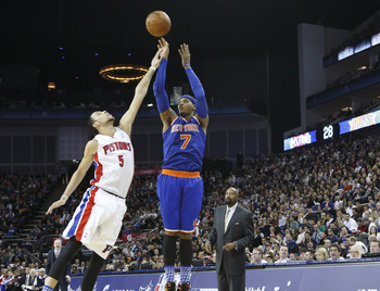 Carmelo Anthony is finding more success in seeking wins first.