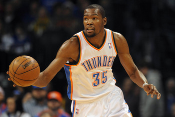 Kevin Durant is on top of the NBA and having his best overall season.