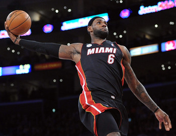 LeBron James is hitting his stride as one of the all-time greats.
