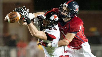 Cooper Taylor is one of the top safeties in the FCS. (Image via RichmondSpiders.com)