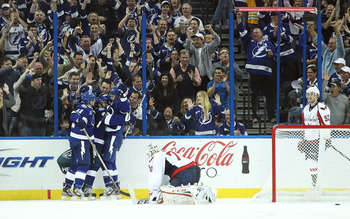 Tampa Bay celebrated two third period PPGs.